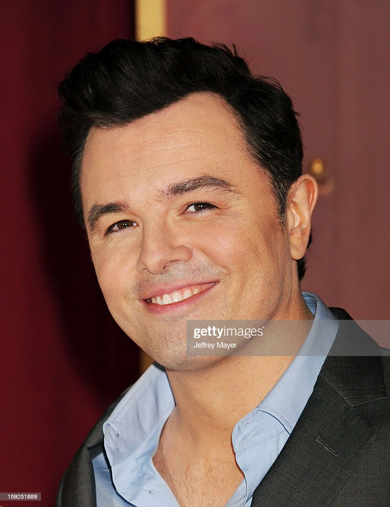 Seth MacFarlane at The 85th Academy Awards Nominations Announcement held at AMPAS Samuel Goldwyn Theater on January 10, 2013 in Beverly Hills, California.