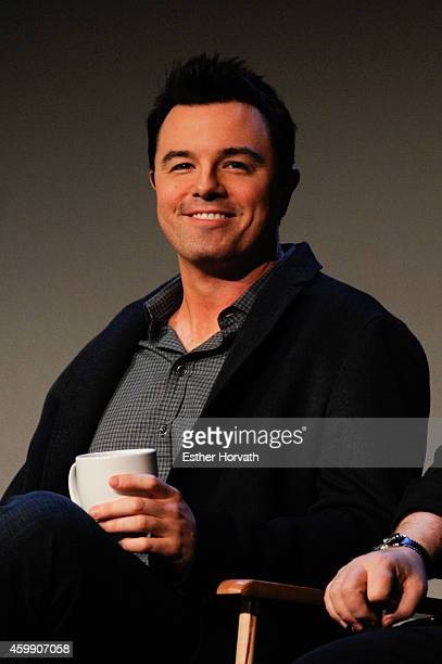 Seth MacFarlane attends Apple Store Soho Presents Meet the Musicians Seth MacFarlane and Joel McNeely 'Holiday for Swing' at Apple Store Soho on...