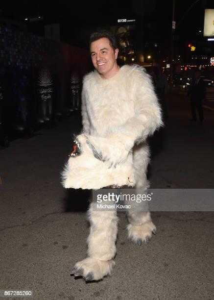 Seth MacFarlane attends Casamigos Halloween Party on October 27 2017 in Los Angeles California