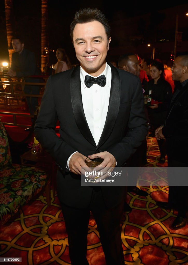 Seth MacFarlane attends HBO's Post Emmy Awards Reception at The Plaza at the Pacific Design Center on September 17, 2017 in Los Angeles, California.