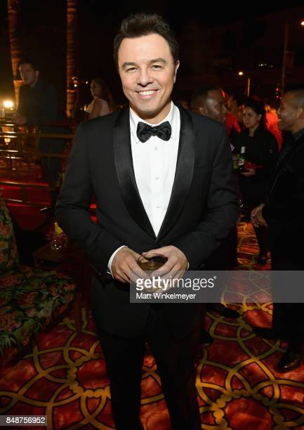 Seth MacFarlane attends HBO's Post Emmy Awards Reception at The Plaza at the Pacific Design Center on September 17 2017 in Los Angeles California