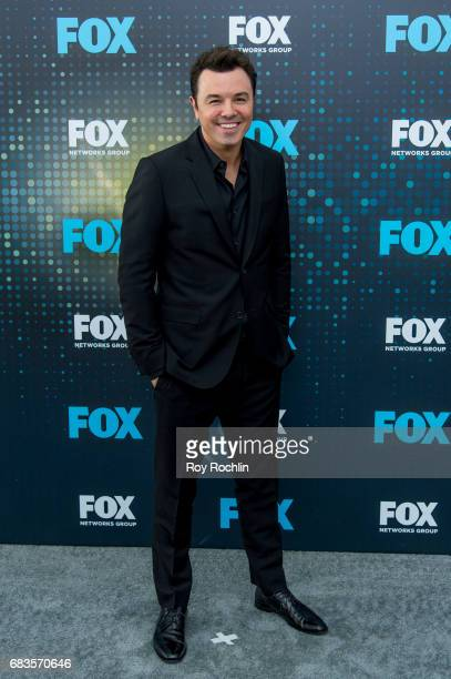 Seth MacFarlane attends the 2017 FOX Upfront at Wollman Rink Central Park on May 15 2017 in New York City