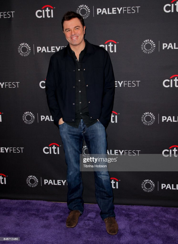 Seth MacFarlane attends The Paley Center for Media's 11th annual PaleyFest Fall TV previews for FOX at The Paley Center for Media on September 13, 2017 in Beverly Hills, California.