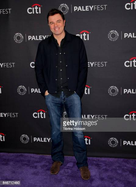 Seth MacFarlane attends The Paley Center for Media's 11th annual PaleyFest Fall TV previews for FOX at The Paley Center for Media on September 13...