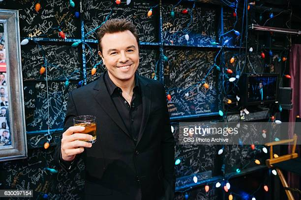 Seth MacFarlane backstage during 'The Late Late Show with James Corden' Thursday December 15 2016 On The CBS Television Network