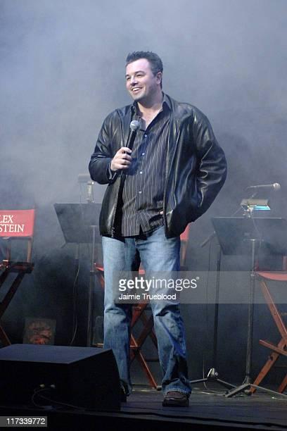 Seth MacFarlane creator during 'Family Guy' Live at El Capitan in Los Angeles California United States