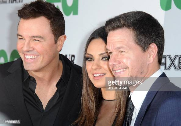 Seth MacFarlane (left) Mila Kunis and Ma Pictures | Getty ...