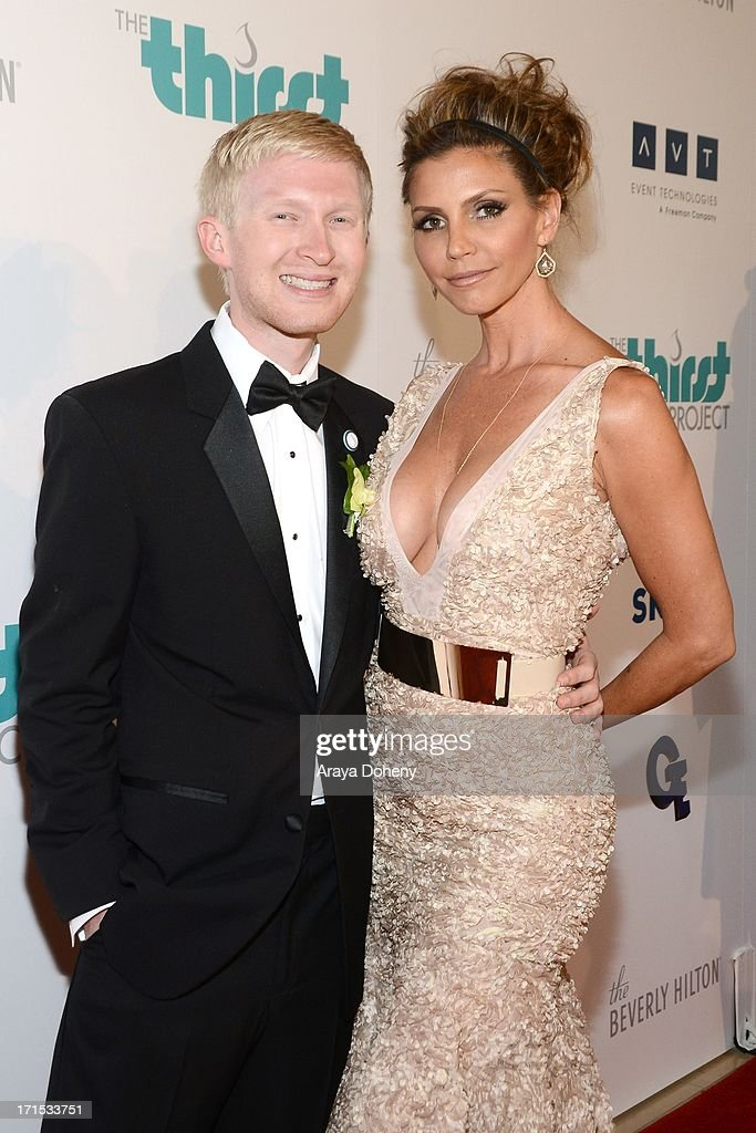 Seth Maxwell and Charisma Carpenter attend the 4th Annual Thirst Gala at The Beverly Hilton Hotel on June 25, 2013 in Beverly Hills, California.