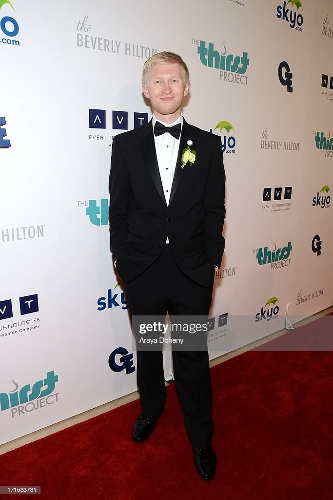 <a gi-track='captionPersonalityLinkClicked' href=/galleries/search?phrase=Seth+Maxwell&family=editorial&specificpeople=7074410 ng-click='$event.stopPropagation()'>Seth Maxwell</a> attends the 4th Annual Thirst Gala at The Beverly Hilton Hotel on June 25, 2013 in Beverly Hills, California.