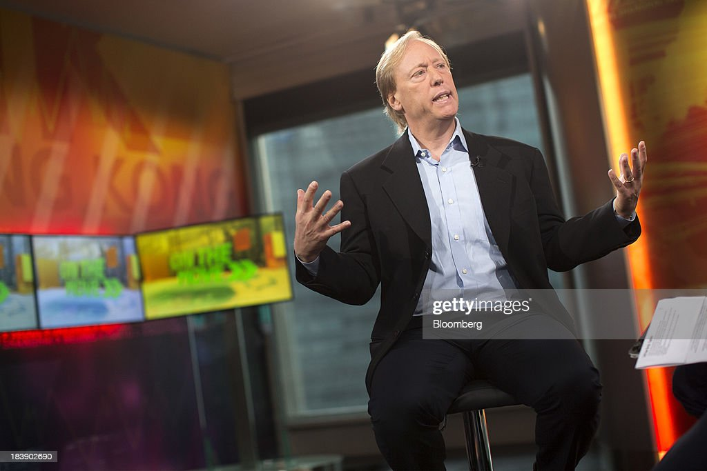 Seth Merrin, founder and chief executive officer of Liquidnet Holdings Inc., gestures as he speaks during a Bloomberg Television interview in Hong Kong, China, on Thursday, Oct. 10, 2013. Liquidnet said Southeast Asia posted the fastest growth in turnover of any region this year after the operator of off-exchange trading platforms expanded into Thai and Philippine equities. Photographer: Jerome Favre/Bloomberg via Getty Images
