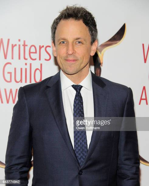 Seth Meyers attends 69th Writers Guild Awards at Edison Ballroom on February 19 2017 in New York City