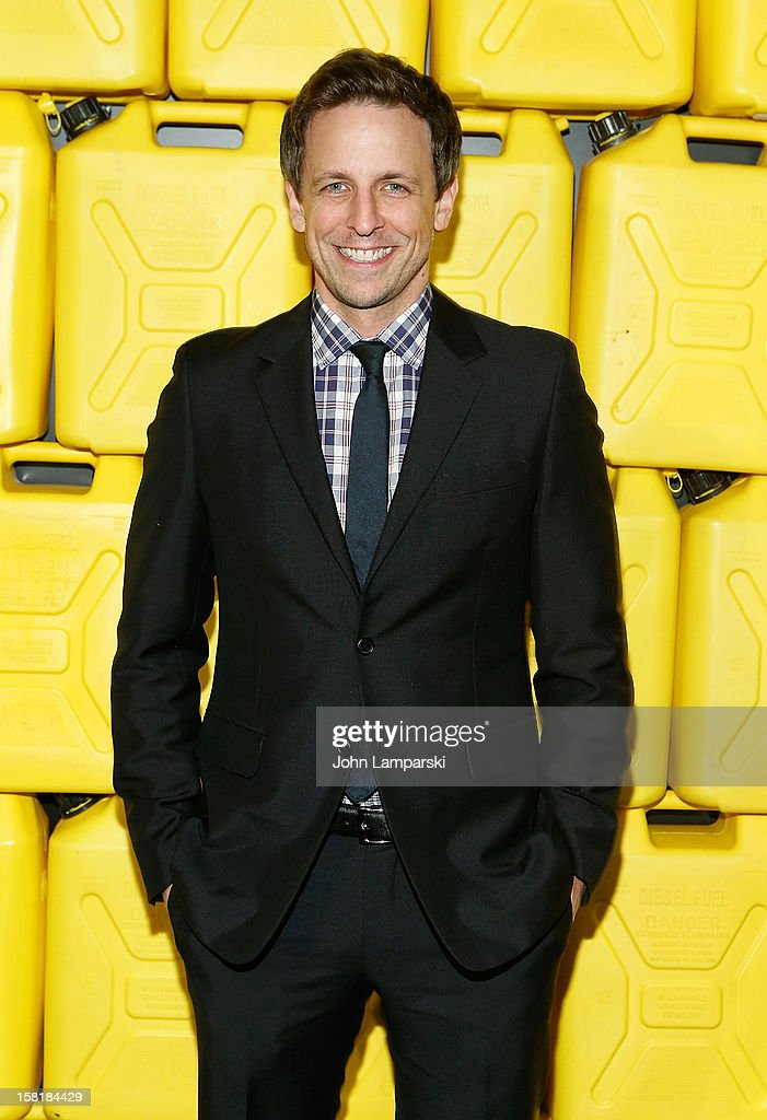 Seth Meyers attends 7th Annual Charity Ball Benefiting Charity:Water at the 69th Regiment Armory on December 10, 2012 in New York City.