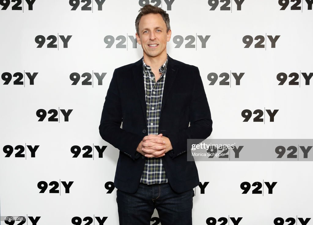 Seth Meyers attends 92Y Presents Get Out: Jordan Peele In Conversation With Seth Meyers at 92nd Street Y on November 14, 2017 in New York City.