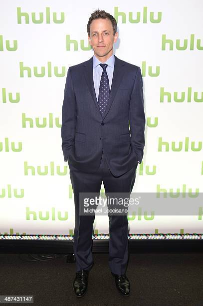 Seth Meyers attends Hulu's Upfront Presentation on April 30 2014 in New York City