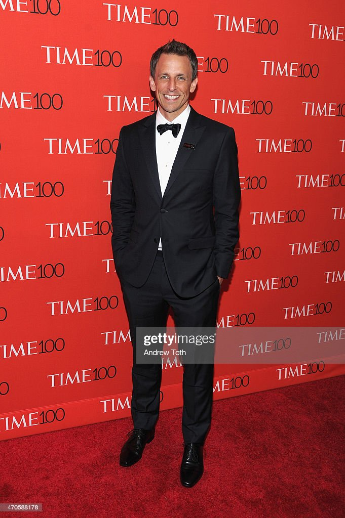 Seth Meyers attends the 2015 Time 100 Gala at Frederick P. Rose Hall, Jazz at Lincoln Center on April 21, 2015 in New York City.