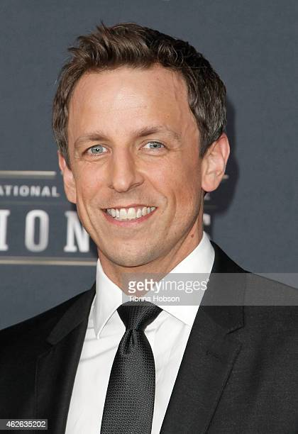 Seth Meyers attends the 4th Annual NFL Honors at Phoenix Convention Center on January 31 2015 in Phoenix Arizona