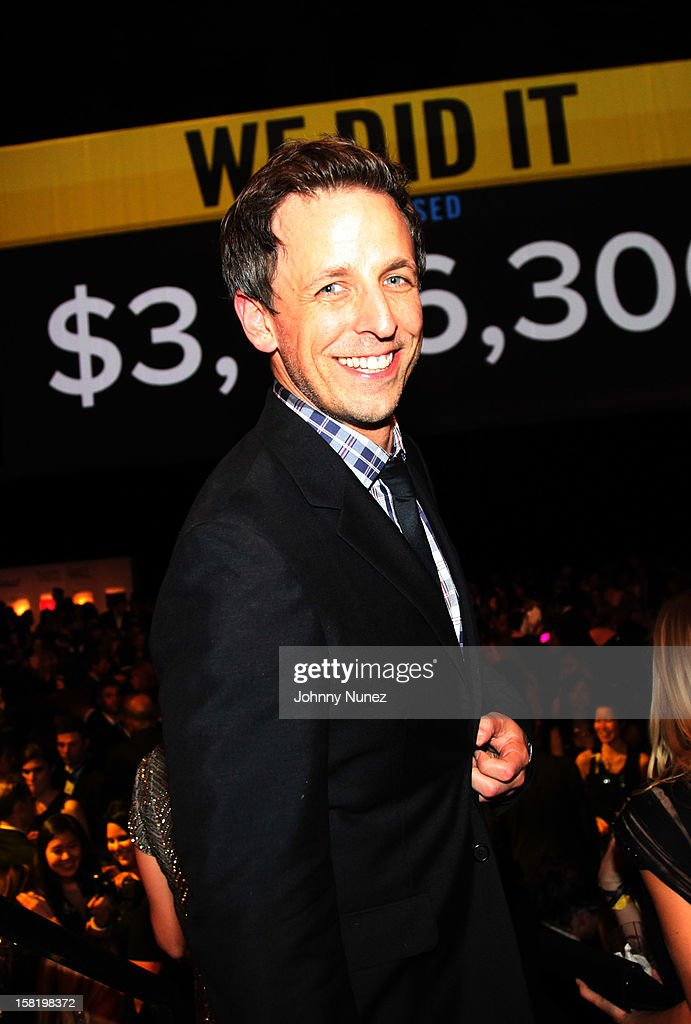 Seth Meyers attends the 7th Annual Charity Ball at the 69th Regiment Armory on December 10, 2012 in New York City.