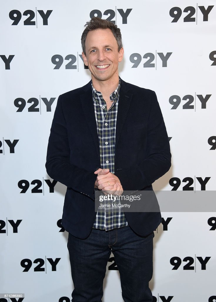 Seth Meyers attends the 92Y Presents Get Out: Jordan Peele In Conversation With Seth Meyers at 92nd Street Y on November 14, 2017 in New York City.