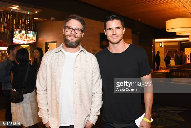 Seth Rogen and Robbie Amell celebrate And Action LA premiere at Cinemark Playa Vista and XD Visit weorg/andaction for more information at Cinemark...