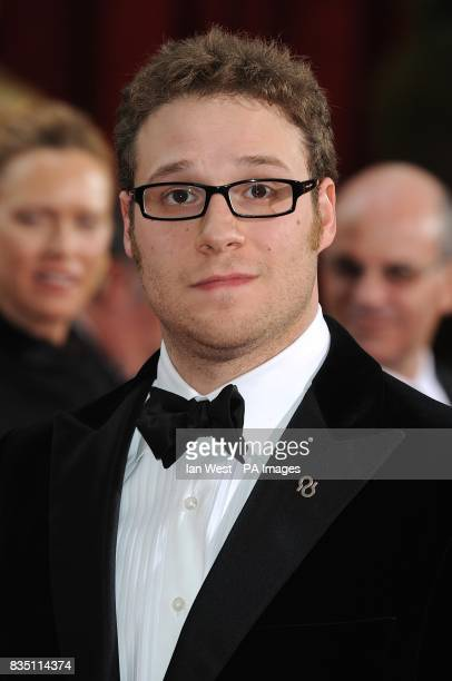 Seth Rogen arriving for the 81st Academy Awards at the Kodak Theatre Los Angeles