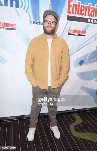 Seth Rogen attends SiriusXM's Entertainment Weekly Radio Channel Broadcasts From Comic Con 2017 at Hard Rock Hotel San Diego on July 22 2017 in San...