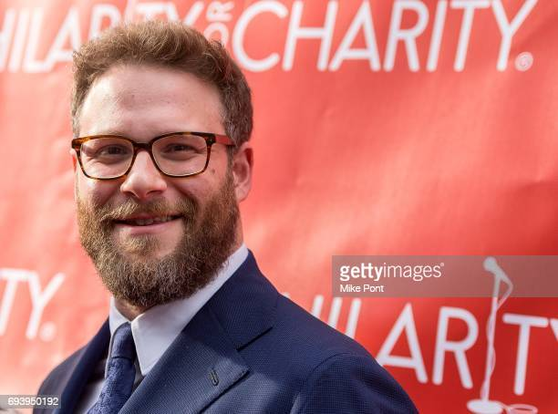 Seth Rogen attends the 3rd Annual Hilarity For Charity New York City Variety Show at Webster Hall on June 8 2017 in New York City