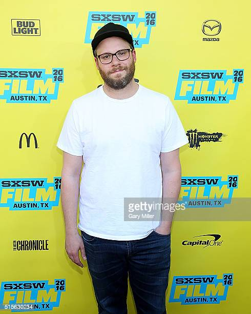 Seth Rogen attends the premiere of AMC's 'Preacher' at theParamount Theater during the South by Southwest Film FestivaL on March 14 2016 in Austin...