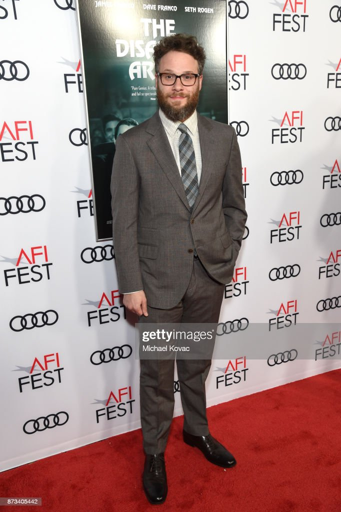 Seth Rogen attends the screening of 'The Disaster Artist' at AFI FEST 2017 Presented By Audi at TCL Chinese Theatre on November 12, 2017 in Hollywood, California.