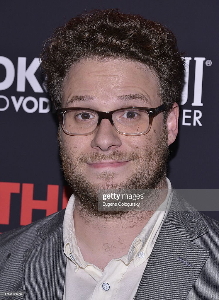 <a gi-track='captionPersonalityLinkClicked' href=/galleries/search?phrase=Seth+Rogen&family=editorial&specificpeople=3733304 ng-click='$event.stopPropagation()'>Seth Rogen</a> attends 'This Is The End' New York Premiere at Landmark's Sunshine Cinema on June 10, 2013 in New York City.