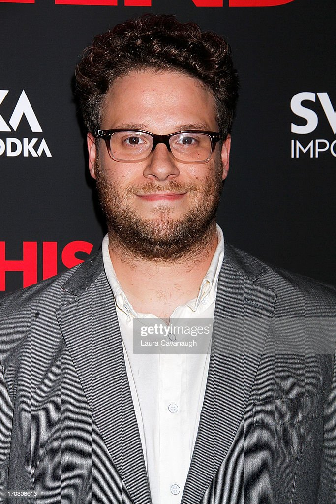 Seth Rogen attends 'This Is The End' New York Premiere at Sunshine Landmark on June 10, 2013 in New York City.