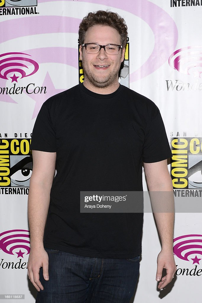 Seth Rogen attends WonderCon Anaheim 2013 - Day 2 at Anaheim Convention Center on March 30, 2013 in Anaheim, California.