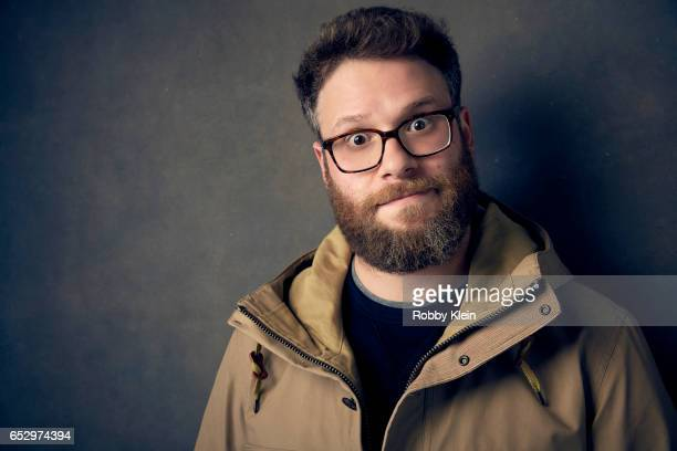 Seth Rogen of AMC's 'Preacher' poses for a portrait at The Wrap and Getty Images SxSW Portrait Studio on March 11 2017 in Austin Texas