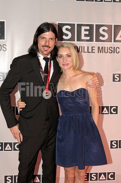 Seth Susan Avett attends 2012 SESAC Nashville Music Awards ...
