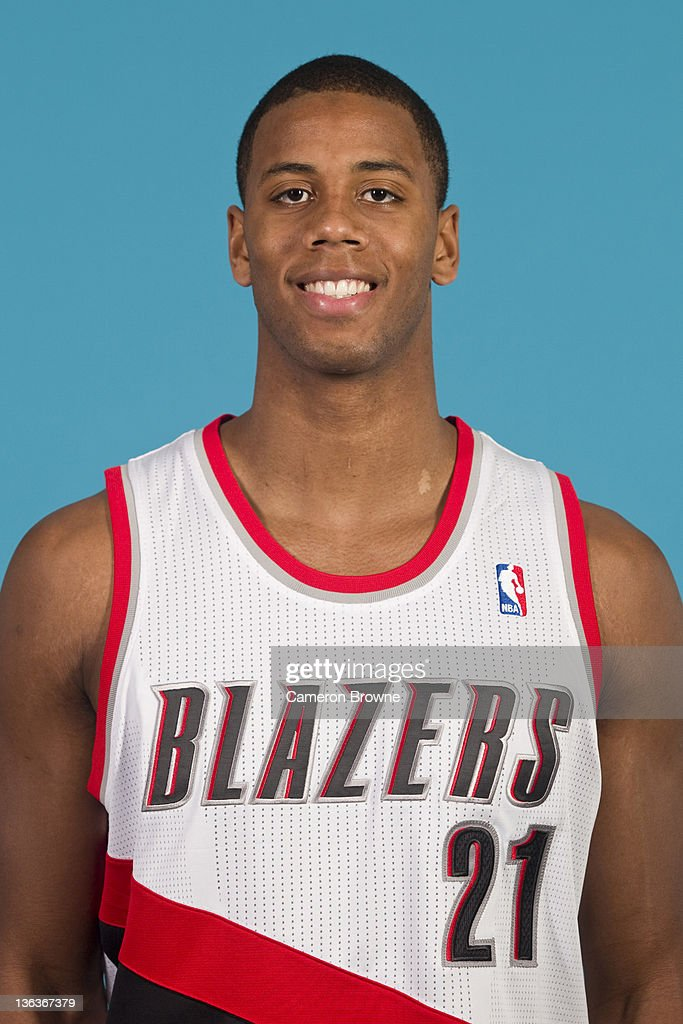 Seth Tarver #21 of the Portland Trail Blazers poses for a portrait during Media Day on December 16, 2011 at the Rose Garden Arena in Portland, Oregon.