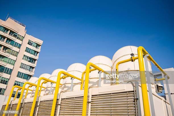 セットの冷却タワーの空調システム