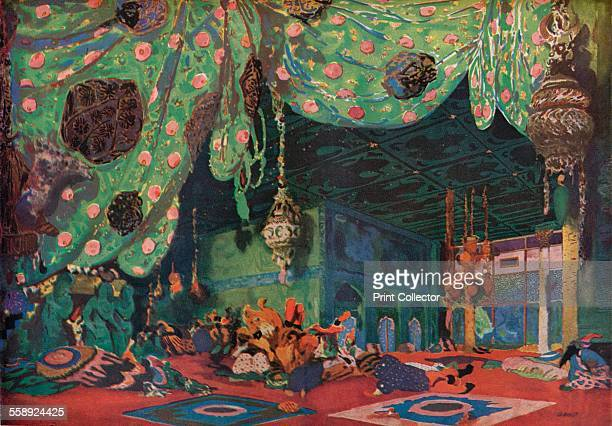 'Setting for Scheherazade' 1910 Scheherazade is a ballet based on the legendary Arabic queen and the storyteller of One Thousand and One Nights From...