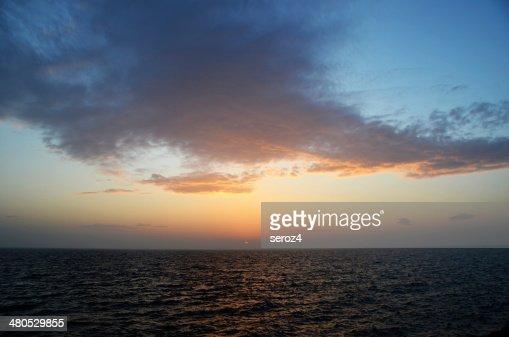 Setting sun : Stock Photo