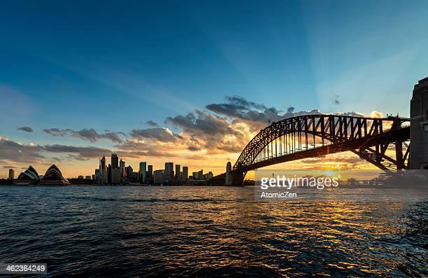 Setting Sun @ Sydney City