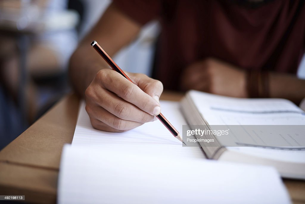 Setting the page on fire with some hard work : Stock Photo