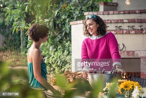 Hipster Backyard Bbq : Armenian Ethnicity Stock Photos and Pictures  Getty Images