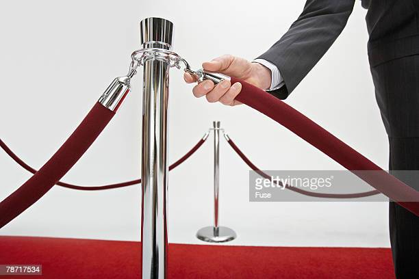 Setting Up the Red Carpet