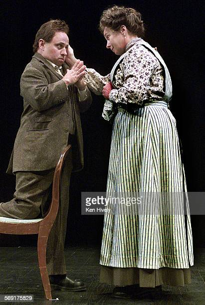 BOURNE Setup scenes May 25 2001 from world premiere play by John Belluso based on the life of early 1900's influential American intellectual Randolph...
