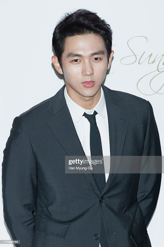 Seulong of South Korean boy band 2AM attends during the wedding of Ki Sung-Yueng of Swansea City at COEX Intercontinental Hotel on July 1, 2013 in Seoul, South Korea.