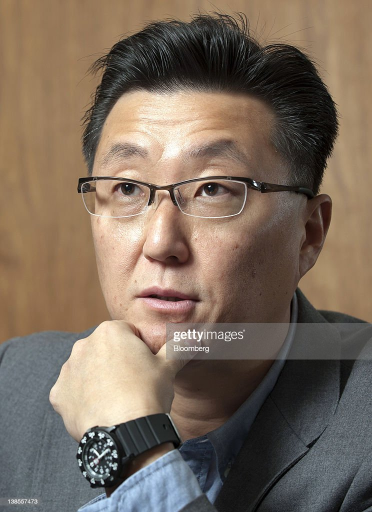Seung Woo Choi, president of Nexon Co., speaks during an interview in Tokyo, Japan, on Wednesday, Feb. 8, 2012. Nexon Co. is an online game creator that's more profitable than Zynga Inc. Photographer: Akio Kon/Bloomberg via Getty Images