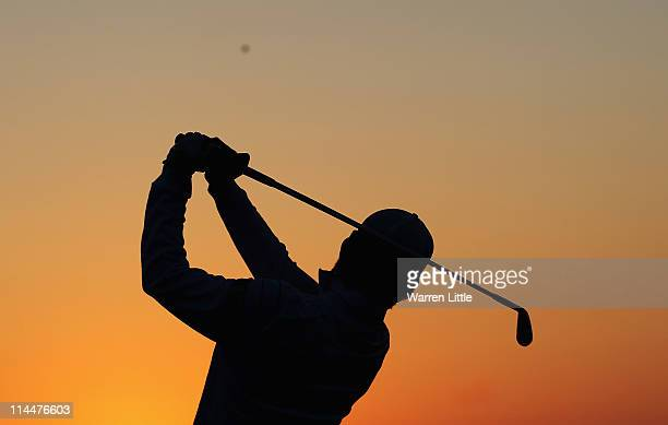 Seungyul Noh of Korea in action during his last 16 match of the Volvo World Match Play Championships at Finca Cortesin on May 20 2011 in Casares Spain