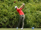SeungYul Noh tees off on the 2nd during the Final Round of the Zurich Classic of New Orleans at TPC Louisiana on April 27 2014 in Avondale Louisiana