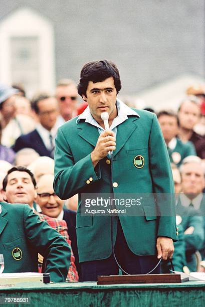 Seve Ballesteros At The Green Jacket Presentation Ceremony Of The 1980 Masters Tournament