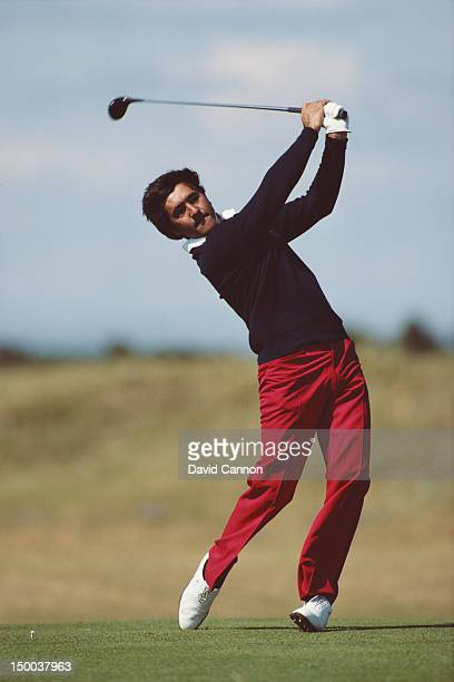 Seve Ballesteros of Spain during the 113th Open Championship on 19th July 1984 on the Old Course at St Andrews Scotland United Kingdom