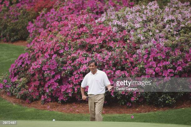 Seve Ballesteros of Spain in action during the US Masters held at the Augusta National Golf Course in AugustaGeorgiaUSA on the 1st of April 1994