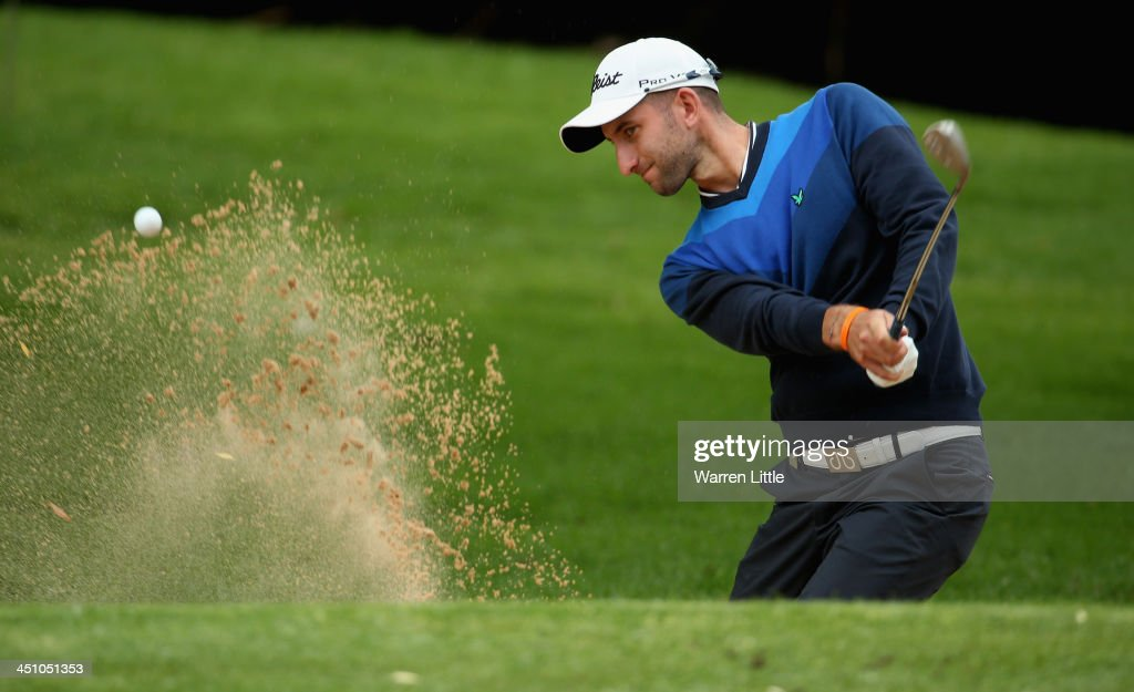 Seve Benson of England in action during the first round of the South African Open Championship at Glendower Golf Club on November 21, 2013 in Johannesburg, South Africa.